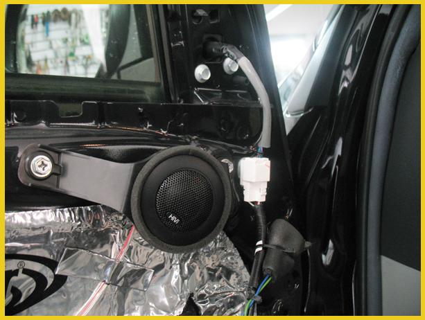 丰田rav4改装惠威nt600汽车音响