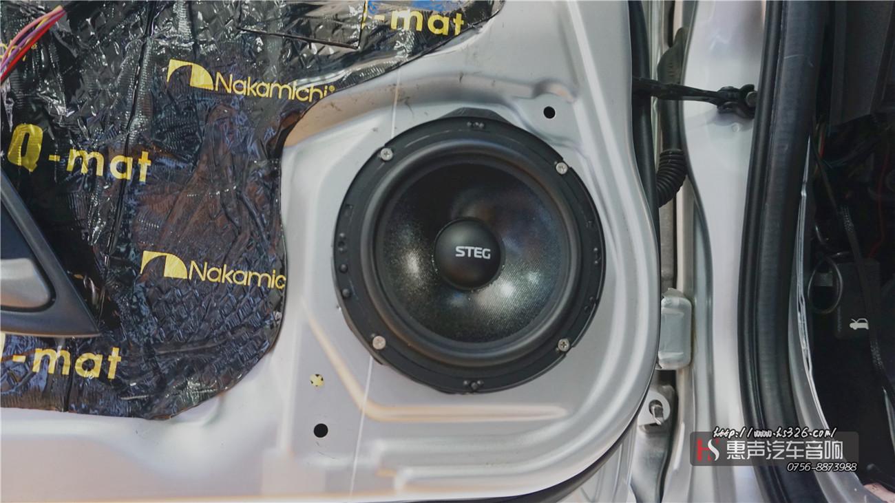 本田飞度安装史泰格SQ650C